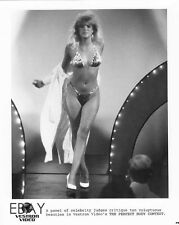 Busty leggy Babe VINTAGE Photo The Perfect Body Contest