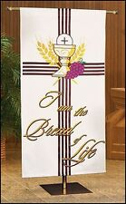 I Am The Bread Of Life Church Banner - Perfect for Communion's & Holy Thursday
