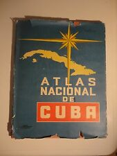 Large19 x 15 National Atlas of Cuba, 1970, On the 10th Anniv. of the Revolution