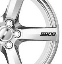6x FIAT RUOTE IN LEGA Decalcomanie Adesivi Adesivi Premium Qualità BRAVO MULTIPLA