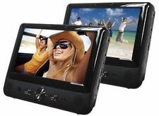 "Bush 9791 9"" Dual Screen In Car DVD battery Player USB Headrest Multi Region C"