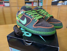 "Nike Dunk Low sb ""de la soul"" taille 44 us 10 uk 9 qs supreme zoom NYC Air Max 1 90"