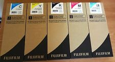 5 Genuine FujiFilm High Quality Frontier DL600 ink Carts 700 ml Exp. 2018 / 2019