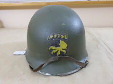 US WW2 17th AIRBORNE TOUR HELMET Paratrooper M1 Stahlhelm Thunder f. heaven #125