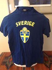 SWEDEN Swedish Football Association S tee soccer FIFA coat of arms Allsvenskan
