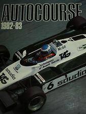 AUTOCOURSE 1982 - 83 ALAN JONES GILLES VILLENEUVE NELSON PIQUET KEKE ROSBERG F1