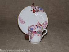 Spode Copeland China Demitasse Cup and Saucer - Chelsea Garden