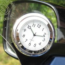 "NEW! British made Time-Rite ""Forty"" Classic Car Dashboard Clock - White Clock"