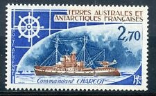 STAMP / TIMBRE DES T.A.A.F. / TERRES AUSTRALES P.A. N° 45 BATEAUX CHARCOT