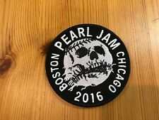 PEARL JAM Wrigley Field CHICAGO/Fenway Park BOSTON 2016 PATCH: SOLD OUT, RARE!
