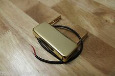 TOG FLOATING ARCHTOP GUITAR PICKUP HUMBUCKER GOLD EPOXY FILLED NEW