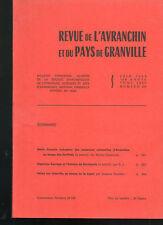 Revue de l'Avranchin,n°327 1986,Denis Roussin, H.Sauvage et Mortain,