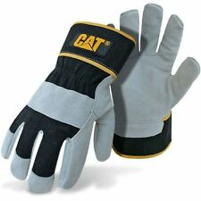 Caterpillar Cat Split Leather Work Gloves Large