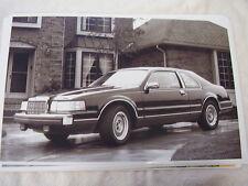 1988 LINCOLN MARK VII  11 X 17  PHOTO /  PICTURE