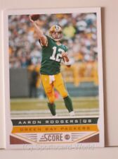 Aaron Rodgers-score 2013 #75 (Green Bay Packers) NFL playercard