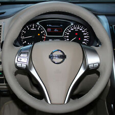 Gray Steering Wheel Cover for Nissan Altima 2.5 2015 2016 Rogue SUV X-Trail ST