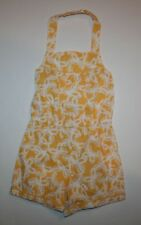 New Gymboree Yellow & White Butterfly Romper Romper Outfit 18-24m NWT  Yellow a