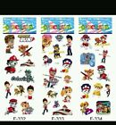 10 x PAW PATROL PUFFY Stickers Party Bag Fillers Birthday party favours, games
