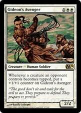 GIDEON'S AVENGER M12 Magic 2012 MTG White Creature — Human Soldier RARE