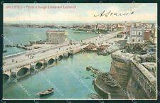 Lecce Gallipoli cartolina XB1988