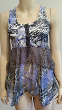 JUST JEANS Animal Print Top Ladies Size 12 NWT NEW