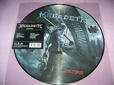 MEGADETH DYSTOPIA PICTURE DISC VINYL LP BRAND NEW   $26.99
