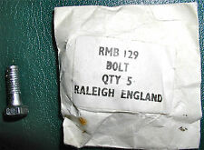 NOS Raleigh Roadster & Twenty, Chrome Bolts,Carrier/Brake, RMB-129, Free S/H USA