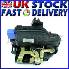 FRONT LEFT Door Lock Mechanism compatible VW GOLF 5 MK5 JETTA TOURAN CADDY MK3