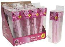 Magic Foam Hair Rollers Curler Bendy Twist Styling Tool Heat Free Easy Curls