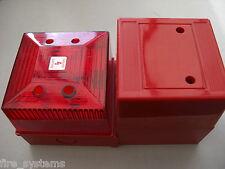 EMS 53-5310/R Radio Fire Alarm Sounder + Red Strobe £300 + vat
