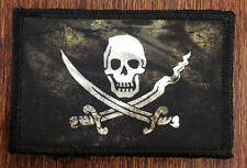 CALICO JACK FLAG Morale Patch Tactical Military NAVY SEAL PIRATE FLAG NSWDG