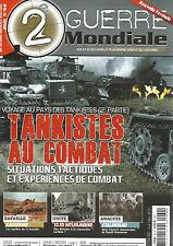 2e GUERRE MONDIALE  N°62 TANKISTES AU COMBAT / BATAILLE KASSERINE / 12.XX HETLER
