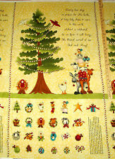 King's Arrival Baby Jesus Nativity Religious Advent Calendar Fabric Panel 23""