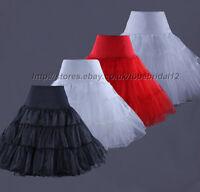 Petticoat Unterrock Rockabilly 50er 60er Jahre Dirndl Rock weiss schwarz rot
