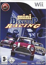 MINI DESKTOP RACING for Nintendo Wii - with box & manual - PAL