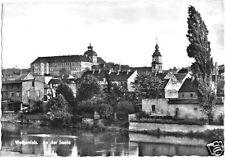 AK, Weißenfels, Teilansicht von der Saale, 1968