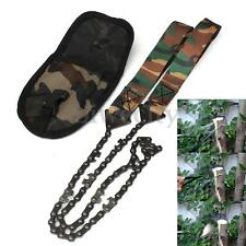 Portable Hand Pocket Chain Saw Camping Hiking Chainsaw Emergency Survival Tool