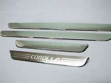 4 Doors Sill Scuff Plate Stainless Steel fits Toyota Corolla AE 100 1993-1997 94