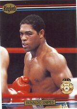"RENALDO ""Mr"" SNIPES - Boxing Trading Card - 1991 Ringlords"