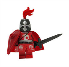 Red Jerusalem Knights Custom Printed Clothes for LEGO Castle Minifigure