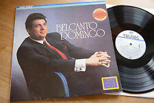 PLACIDO DOMINGO Belcanto SANTI LP Teldec DMM 40 232 Club Ed.