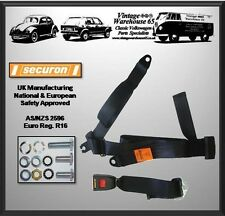 Rover Mini Classic Cooper Rear Static 3 Point Seat Belt Kit