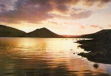Lodève - Crépuscule sur le lac du Salagou