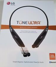 NEW LG Tone Ultra Premium Wireless Stereo Bluetooth Around-Neck Headset, HBS-810