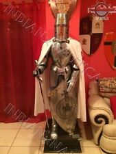ARMOUR MEDIEVAL WEARABLE KNIGHT TEMPLAR FULL SUIT OF ARMOR COLLECTIBLE COSTUME