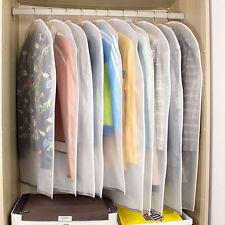 5Pc Practical Clothing Transparent Plastic Dust Proof Bag Travel Carrier 60*90cm