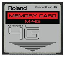4GB Roland CF Card Juno-G MV8000 MV8800 Compact Flash Memory Drive Upgrade Gig