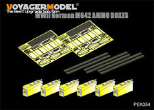 Voyager PEA354 1/35 WWII German MG42 Ammo Boxes (Universal set)