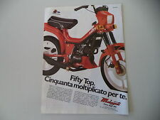 advertising Pubblicità 1985 MALAGUTI FIFTY TOP 50