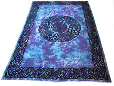CELTIC Triskel Knot TIE DYE Hippie India WALL HANG Hanging TAPESTRY Bedspread